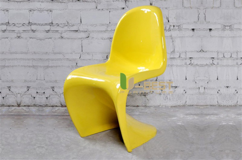 panton chair fiberglass dining chair3
