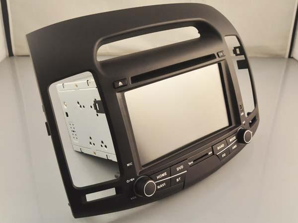 Fit pour HYUNDAI ELANTRA 2007-2011 OTOJETA android 8.1 Wifi voiture dvd lecteur magnétophone unités centrales avec canbus bleu bouton lumière