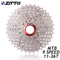 ZTTO Bicycle 9 S 27 S Speed Freewheel For Mountain Bike Cassette 11 36T Compatible For