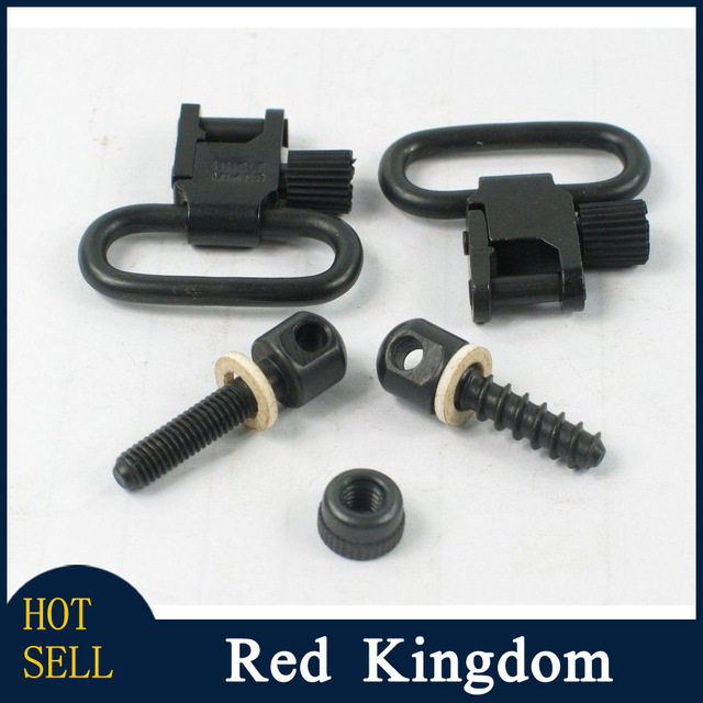 6.7 New Arrival Uncle Mike's Quick Detach Sling Swivels & Studs 1001-2 of Hunting Accessories Sets Quick Detachable Swivels