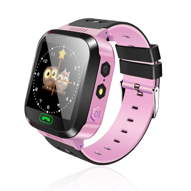 Y03/M05 Children GPS Smart Watch Kids SOS Call Location Tracker Wristwatch anti-lost Baby Safe Guard English Languages