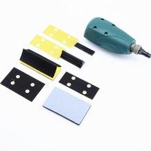 Пневматический шлифовальный станок с наждачной бумагой, возвратно-поступательный профиль, пневматический шлифовальный станок, ветровой линейный инструмент