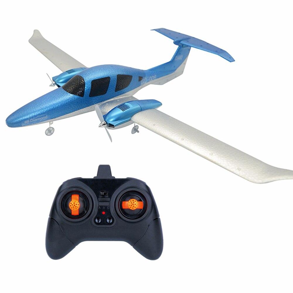 DIY RC Самолет фиксированное крыло EPP пена пульт дистанционного управления RC самолет рождественские игрушки для детей летающие модели планер...