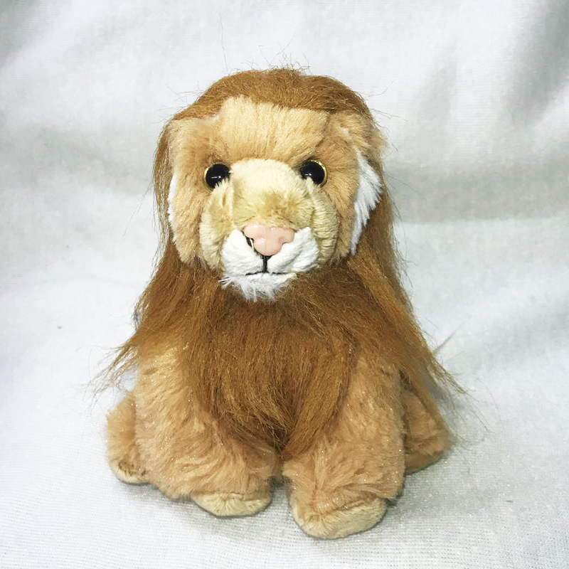 Popular NICI Lion 20 cm 1 pcs/set Stuffed Doll Plush with original tag Jungle Series Animal collection toy T298