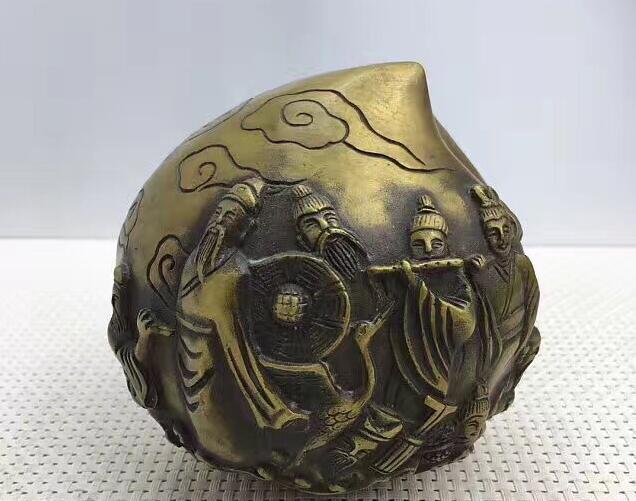 Artisanat en bronze ntique et cadeaux de jeton de jeu ornements en bronzeArtisanat en bronze ntique et cadeaux de jeton de jeu ornements en bronze