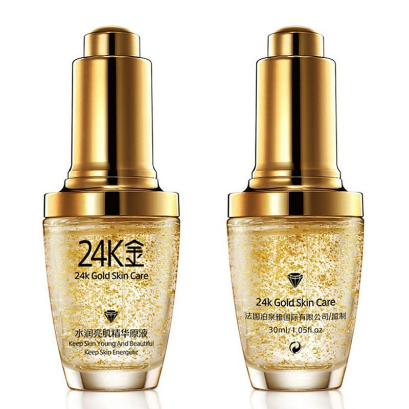 24K Gold Face Serum Moisturizer Essence Cream