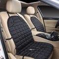 Tampas de Assento Do Carro quente para os Dias Frios Almofada Do Assento Aquecido tampa Do Carro Auto 12 V Electirc Aquecedor de Assento de Carro Almofada de Aquecimento-Cobre preto