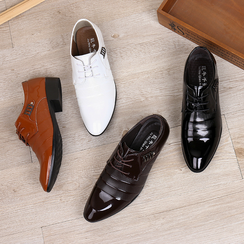 Shoes Beautiful 2018 New Fashion Style Designer Formal Mens Dress Shoes Genuine Leather Luxury Wedding Shoes Men Flats Office Shoes Lc5253 Men's Shoes