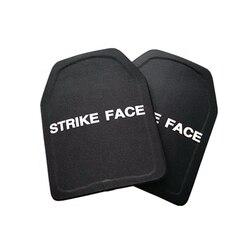2pc STA Shooter Cut NIJ III Ebene Kugelsichere Platte Anti-ballistischen Keramik Platte
