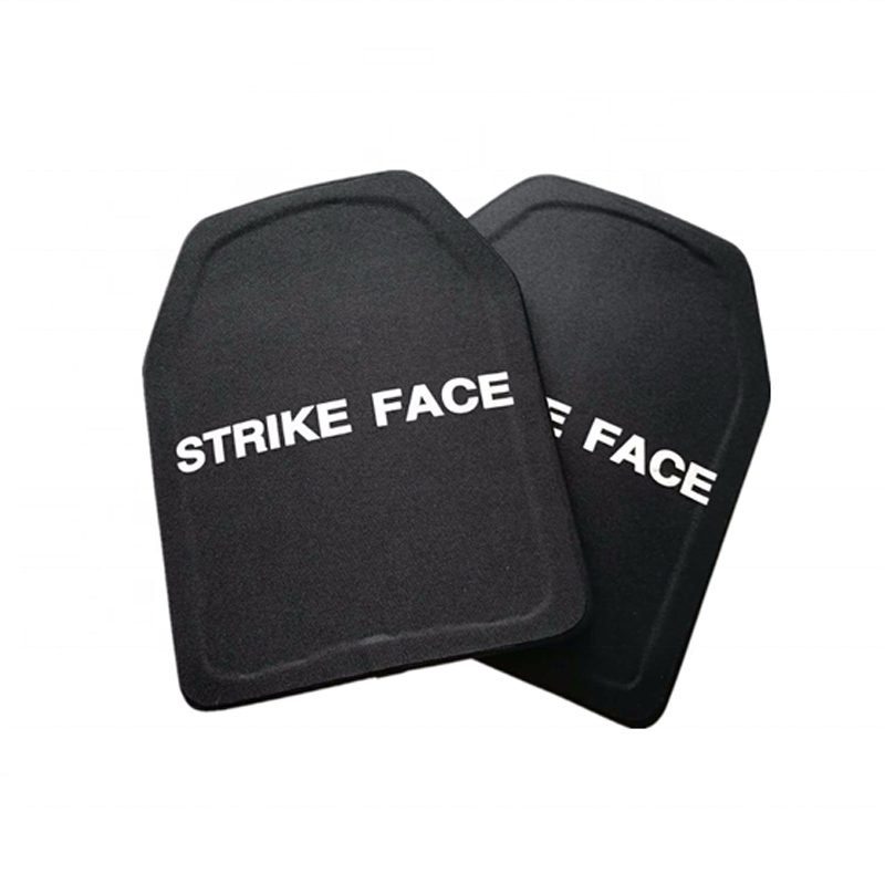 2pc STA Shooter Cut NIJ III Level Bulletproof Plate Anti-ballistic Ceramic Plate