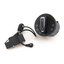 READXT For Golf 7 MK7 Chrome Head Light Control Switch With Car Auto Headlight Sensor Module 5GG941431D 5GG 941 431 D