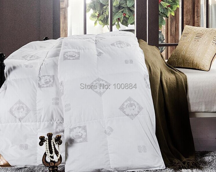 queen size winter down duck 325kg filler - Down Comforter Queen