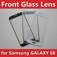 20pcs/lot for Samsung S6 G9200 Replacement LCD Front Touch Screen Outer Glass Lens New white/black/blue/gold wholesale H-Quality