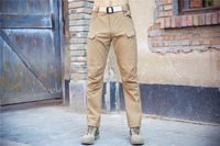 Shanghai Story Man Military Tactical Pants Mens Army Cargo Pants SWAT Combat Hike Cargo Pants Trouser