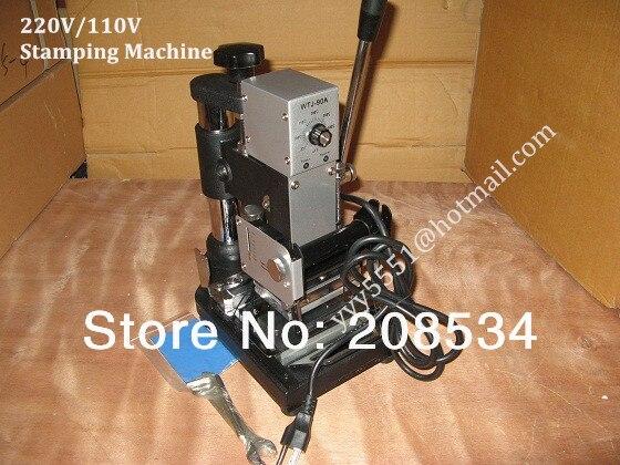Free Shipping DHL FEDEX 110V 220V Hot Foil Bronzing Stamping font b machine b font Card