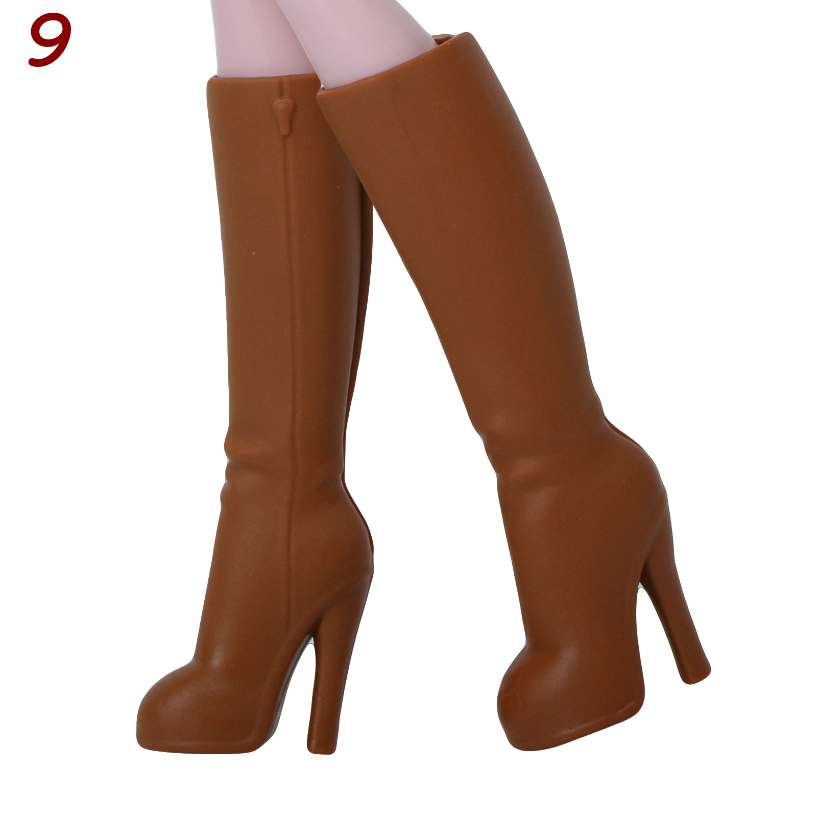 Long Boots Casual High Heels Cute Shoes Clothes For  Doll Dress Access HgMO/_jn
