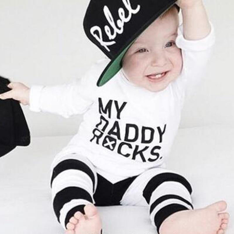 noworodek ubrania dla chłopca komplety bawełny dla niemowląt - Odzież dla niemowląt - Zdjęcie 1