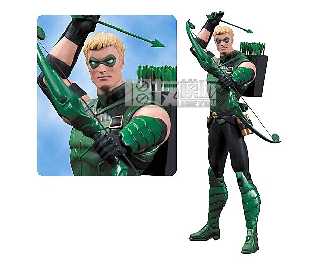 ФОТО Limited ! 6 inch DC  marvel   DCC  NEW52  Green arrow  action figure  Cosmic Coalitions  Toys Free shipping