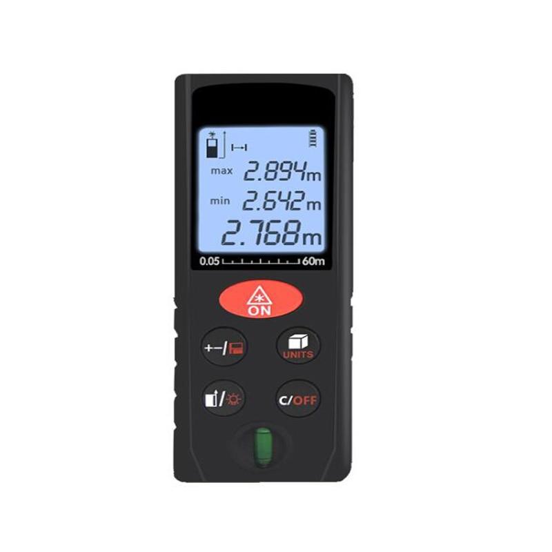 Handheld laser Rangefinder Digital laser rangefinder 60M measuring room electronic ruler instrumentation ruler test tool