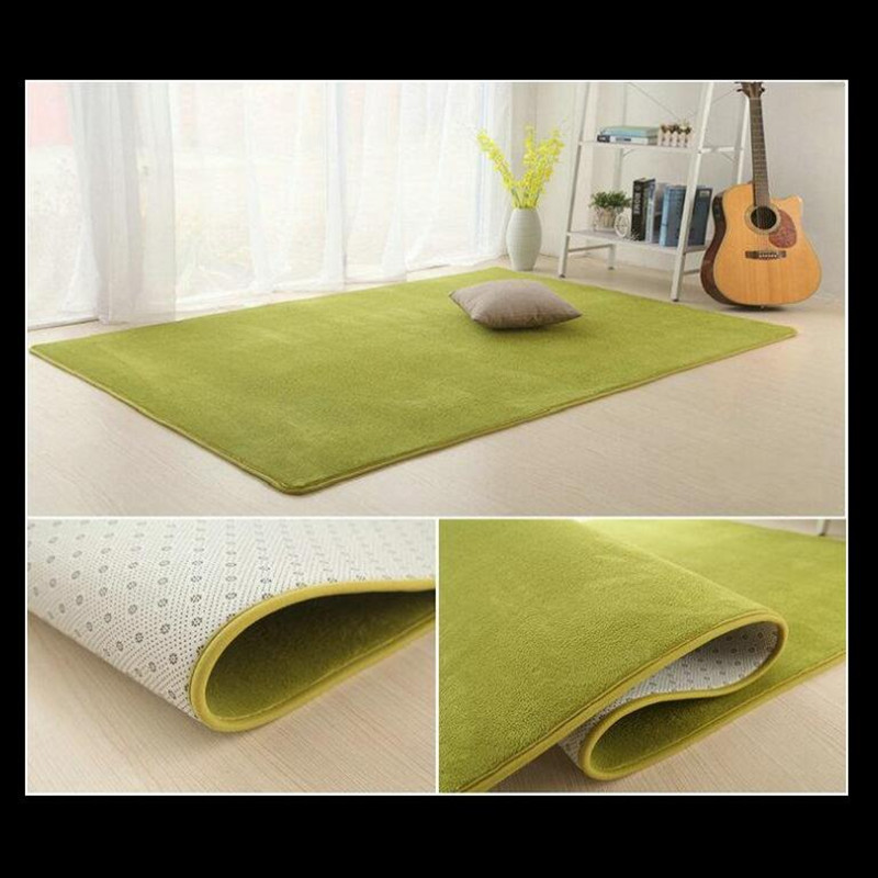 Velvet Soft Rugs In Natural Beige: 12 Colors Coral Velvet Soft Carpet Area Rug Slip Resistant