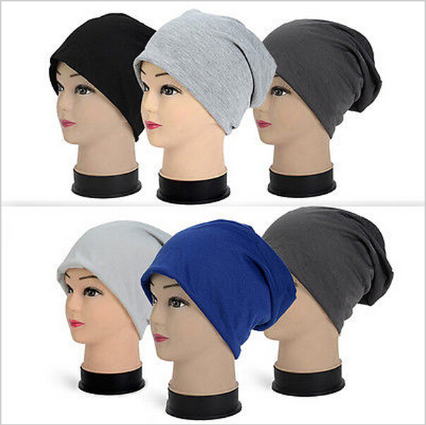 Winter Hats for Women Beanies Cotton Blended Hip Hop Caps Slouch Warm Hat Festival Unisex Turban Cap Solid Color Bonnet Hats