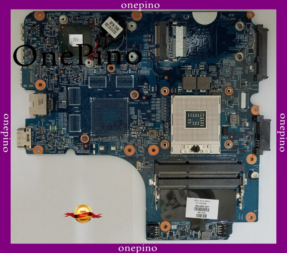 FOR HP Laptop Motherboard 4440s 4441s 4540s 683495-501 683495-001 683495-601 HM76 Laptop Motherboard 744009 501 744009 001 for hp probook 640 g1 650 g1 motherboard socket 947 hm87 ddr3l tested working