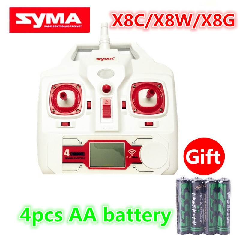 Original Drone Syma X8 X8C X8W X8G RC Quadcopter Spare Parts Remote Controller Transmitter AA battery - Ali Authorized Store store