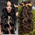 Peruvian Virgin Hair With Closure 8A Straight Human Hair 4 Bundles With Closure Peruvian Straight Virgin Hair With Lace Closures