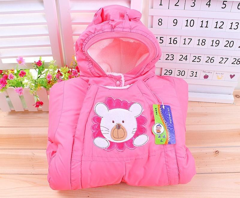 Autumn & Winter Newborn Infant Baby Clothes Fleece Animal Style Clothing Romper Baby Clothes Cotton-padded Overalls CL0437 (18)