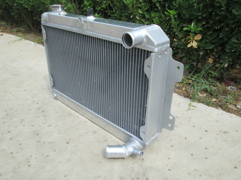 3 row Aluminum Radiator for 1979-1985 Mazda RX-7 RX7 S1 S2 S3 MT 80 81 82 83 MT