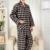 2016 Mens Plaid Pijamas de Algodón de Manga Completa de Los Hombres Pantalones de Hombre Ropa de Dormir ropa de Dormir Pijamas Homme Masculino Masculino Ropa XXXL 25