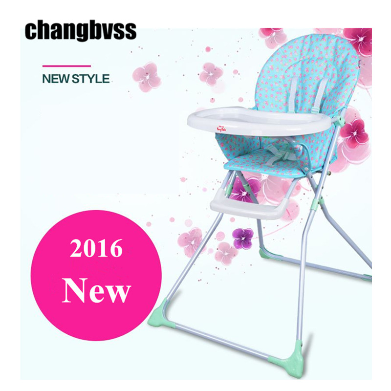 Age For High Chair Steel Effect Child Dining Multifunctional Baby Chairs Portable Folding Table Stool 6 Monthes 3 Years Free Shipping