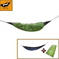 FREE FIRE Sleeping Bag System, Envelope Down Sleeping Bag, Duck Down, Winter Warm Sleeping Bag, Underquilt with Hammock system