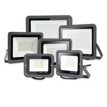 Led Floodlight 10w/30w/50w/100W/200W/300W/500W Ip65 AC 220V Outside Lighting  Exterior Garden Light Spotlight Waterproof