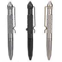 New Self Defense Tactical Pen Tactico Militar Personal Defense EDC Portable Pen Aviation Aluminum Alloy Auto