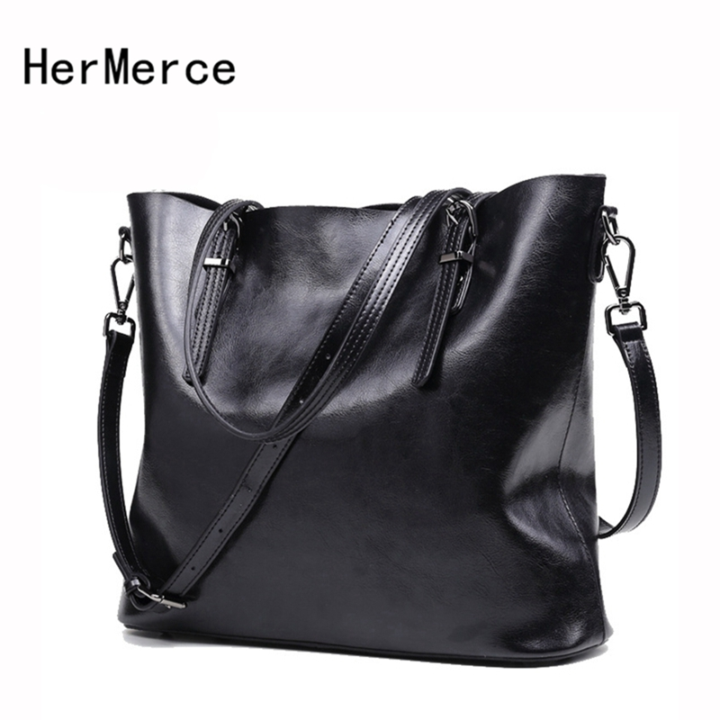 HerMerce Fashion Brand Genuine Leather Women Messenger Bag Female Shoulder Bags Solid Tote Bags Designer Handbags Bolsa Feminina designer brand genuine leather women tote bag fashion women leather handbags messenger shoulder bags for women hb 131