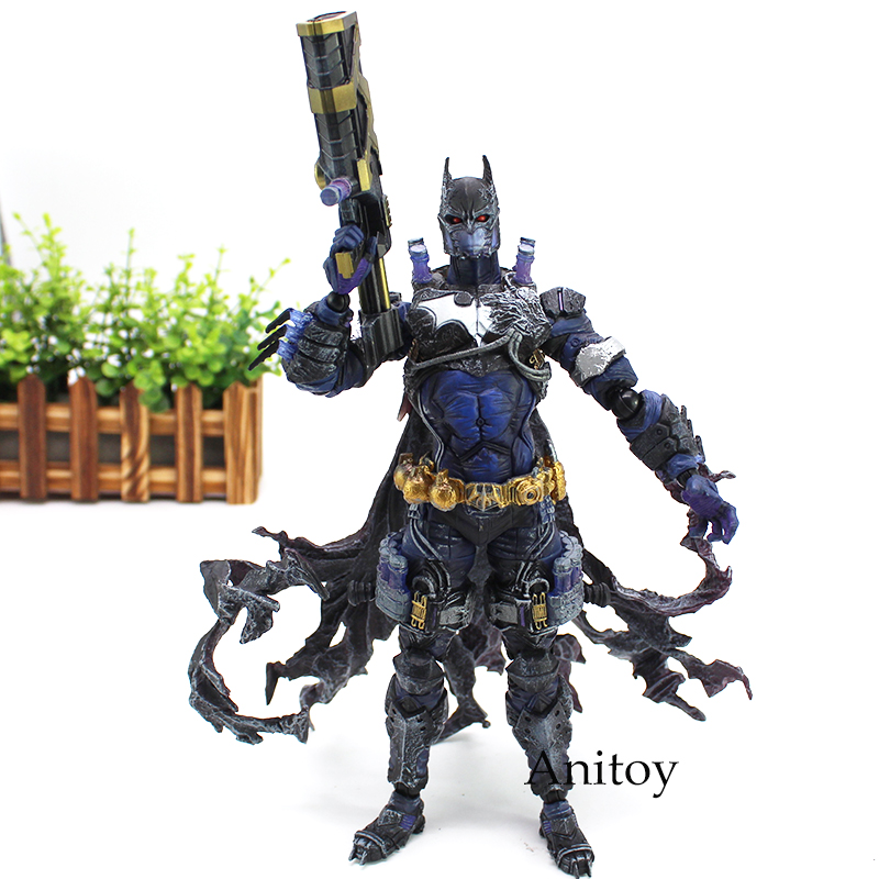 VARIANT DC Comic Play Arts Figure Kai Batman Rogues Gallery Mr. Freeze Action Figure Toy 26.5cm