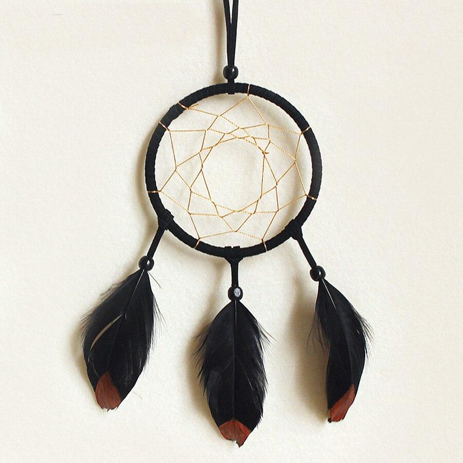 Vintage enchanted forest dreamcatcher handmade dream catcher net with