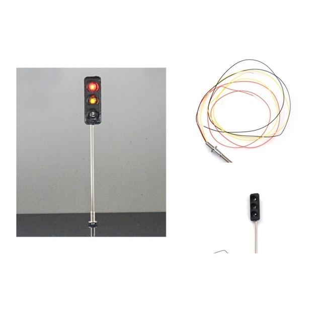 Wondrous Metal Traffic Signal Pedestrian Crossing Led Light Model 3V Train Wiring Digital Resources Pelapshebarightsorg