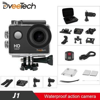 Dveetech Action Camera Wifi HD 1080P Sport Camera Waterproof 30M Underwater Camera Motorcycle Helmet Action Cam for kids gadget