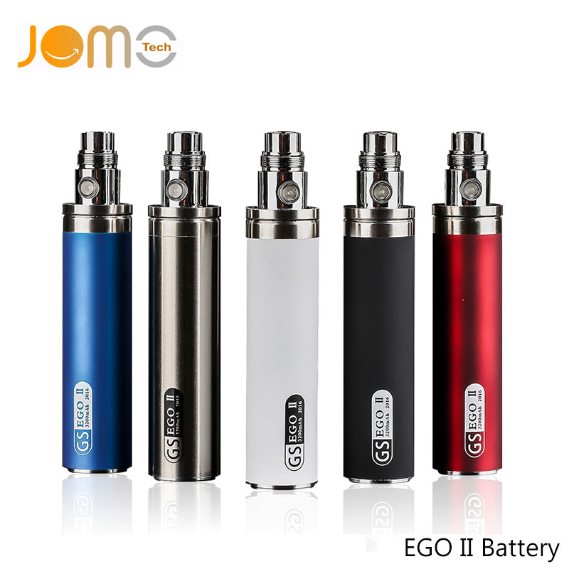 Factory Price E Cigarette Ego Battery 2200mAh/2600mah 3.7-4.2V Variable Voltage Battery Twist For Ego Thread Vape Pen Jomo-55