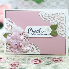 Lace Edge Border Metal Cutting Dies for Card Making