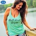 Mao 201 a Europa e América Do Novo Tamanho Grande Âncora do mar Tnak Tops de impressão T-shirt Sem Mangas Colete Casuais Top Feminino das Mulheres camisa