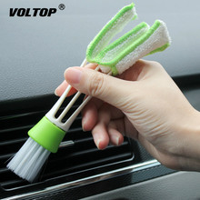 Car Cleaning Tools Wash Brush Interior Accessories Air Conditioning Air Outlet Dashboard Remove Dust multifuctional double headed car air outlet cleaning brush
