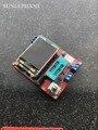 2017 TFT GM328 Diodo Transistor Testador ESR LCR medidor de tensão PWM Freqüência do pulso de onda Quadrada Gerador de Sinal kit