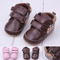 New PU Baby ShoesNewborn Boys Girls First Walkers Newborn Infant Toddler Prewalker Soft Bottom Footwear for baby YL248