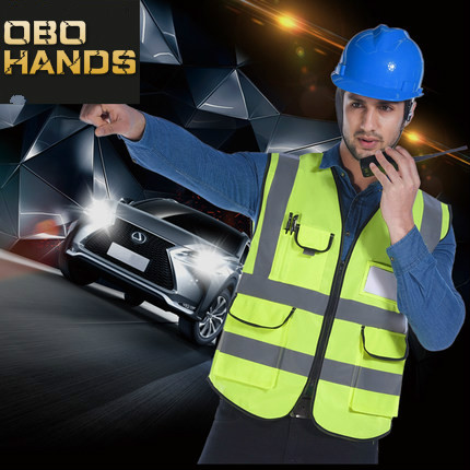 Reflective vest car traffic construction safety clothing reflective vest vest fluorescent clothes sanitation worker clothes экспедиция нано залипала экспедиция