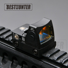 RMR Styl Glock Red Dot Sight Zakres Trijicon Reflex Sight Dla Hunting Rifle Scope Sight Tactical Wojskowy Shotgun