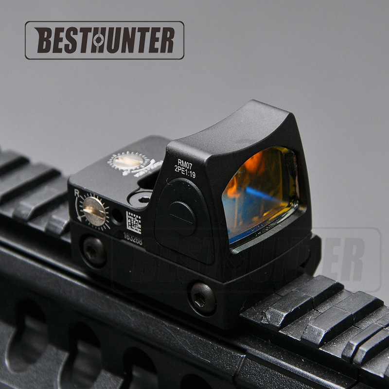Trijicon RMR Style Glock Red Dot Sight Scope Reflex Sight Tactical Military Shotgun Sight For Hunting Rifle Scope