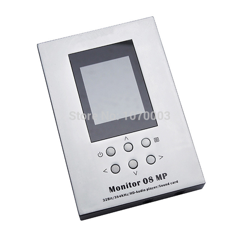 New MUSILAND 08MP TF card Player 32bit/384KHz PDA Mobile Android ios Linux Mac WINDOWS PCM DSD USB DAC earphone amplifier musiland monitor monitor 04 mx tf card player 32bit 384khz usb dac pc hifi dsd digital stream output usb2 0 3 5mm 6 25mm output